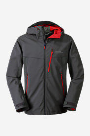 Men's Sandstone Shield Hooded Jacket in Gray