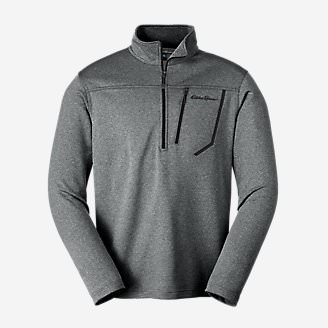 Men's High Route Fleece Pullover in Gray
