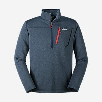 Men's High Route Fleece Pullover in Blue