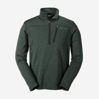 Men's High Route Fleece Pullover in Green