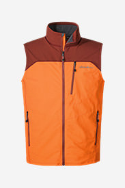 Men's Sandstone Soft Shell Vest in Brown