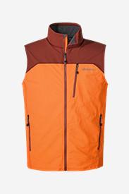 Men's Sandstone Soft Shell Vest in Brown
