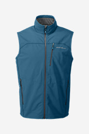 Men's Sandstone Soft Shell Vest in Blue