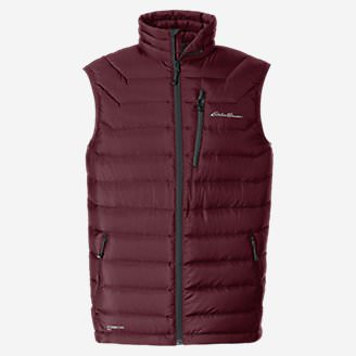 Men's Downlight® StormDown® Vest in Red