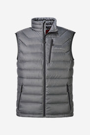 Men's Downlight® StormDown® Vest in Gray