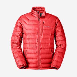 Men's Downlight® StormDown® Jacket in Red