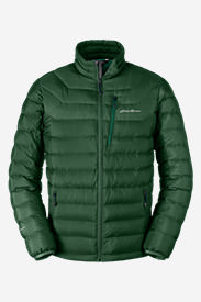 Men's Downlight StormDown Jacket in Green