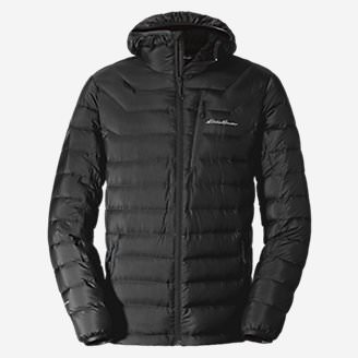 Men's Downlight StormDown Hooded Jacket in Black