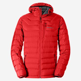 Men's Downlight StormDown Hooded Jacket in Red