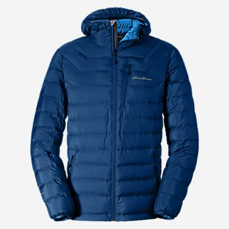 Men's Downlight StormDown Hooded Jacket in Blue
