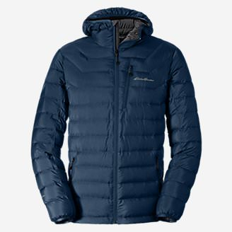 Men's Downlight® StormDown® Hooded Jacket in Blue