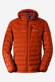 Men's Downlight StormDown Hooded Jacket in Orange