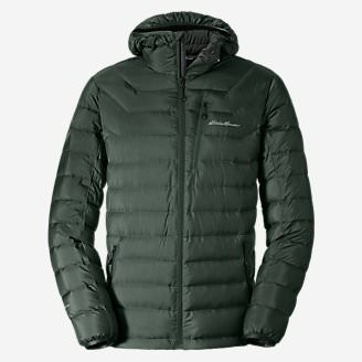 Men's Downlight StormDown Hooded Jacket in Green