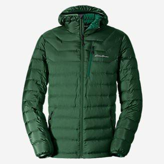 Men's Downlight StormDown Hooded Jacket in Green