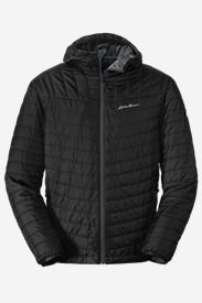 Men's IgniteLite Reversible Hooded Jacket in Black
