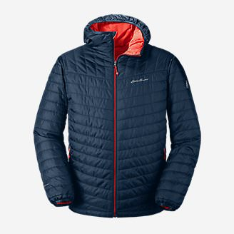 Men's IgniteLite Reversible Hooded Jacket in Blue