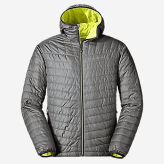 Men's IgniteLite Reversible Hooded Jacket in Gray