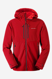 Men's Sandstone Thermal Jacket in Red