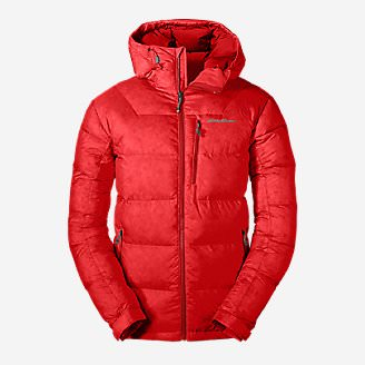 Men's DownLight Alpine Jacket in Red