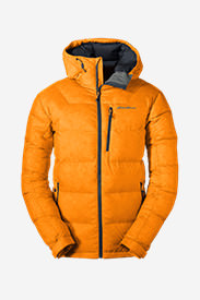 Men's DownLight Alpine Jacket in Orange