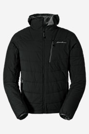Men's IgniteLite Flux Stretch Hooded Jacket in Black