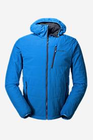 Men's IgniteLite Flux Stretch Hooded Jacket in Blue