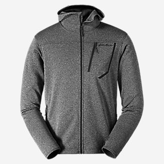 Men's High Route Fleece Hoodie in Gray