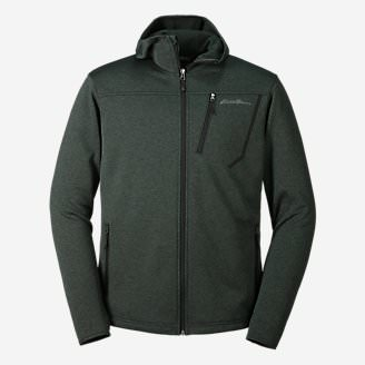 Men's High Route Fleece Hoodie in Green