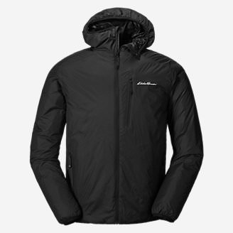 Men's EverTherm Down Hooded Jacket in Black