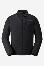 Men's MicroTherm Stretch Down Jacket in Black