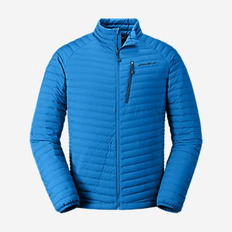 Men's MicroTherm Stretch Down Jacket in Blue