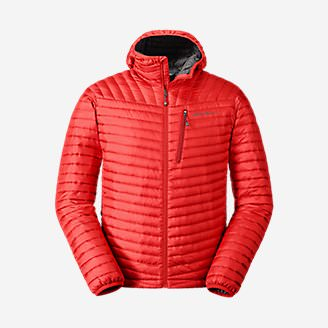 Men's MicroTherm 2.0 StormDown Hooded Jacket in Red