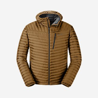 Men's MicroTherm 2.0 StormDown Hooded Jacket in Brown