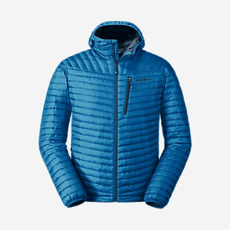 Men's MicroTherm 2.0 StormDown Hooded Jacket in Blue