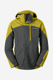 Men's Powder Search 3-In-1 Jacket in Yellow