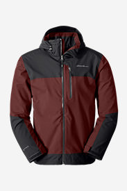 Men's All-Mountain Shell Jacket in Brown