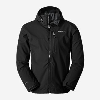 Men's All-Mountain Shell Jacket in Black