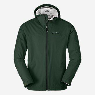 Men's Cloud Cap Lightweight Rain Jacket in Green