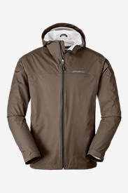 Men's Cloud Cap Lightweight Rain Jacket Tall in Beige