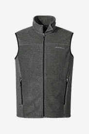 Men's Quest 200 Fleece Vest in Gray