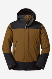 Men's Powder Search 2.0 3-In-1 Down Jacket in Brown