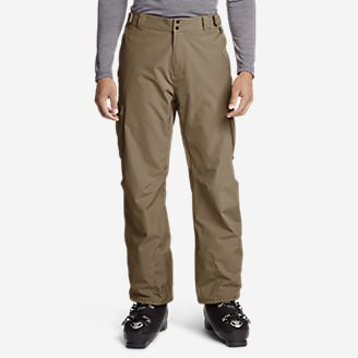 Men's Powder Search 2.0 Insulated Pants in Brown