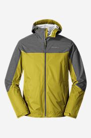 Men's Cloud Cap Flex Rain Jacket in Green