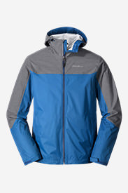 Men's Cloud Cap Flex Rain Jacket in Blue