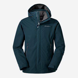 Men's Powder Search Shell Jacket in Blue