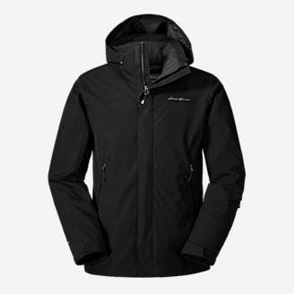Men's Powder Search Shell Jacket in Black