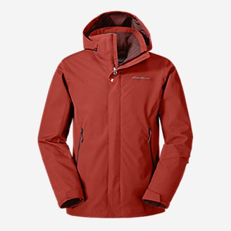 Men's Powder Search Shell Jacket in Red