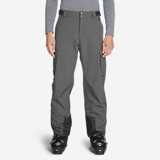 Men's Powder Search Shell Pants in Gray