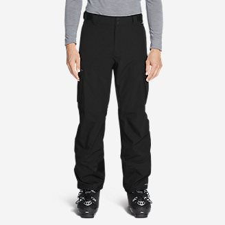 Men's Powder Search Shell Pants in Black