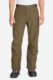 Men's Powder Search Shell Pants in Brown